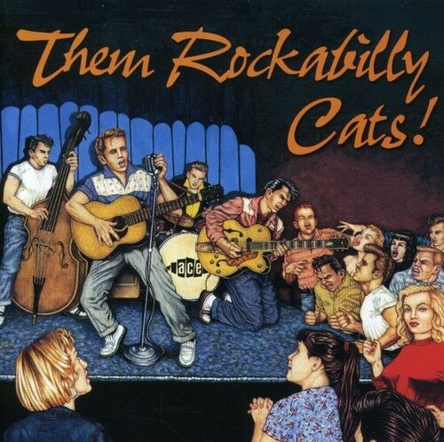 Various Artists - Them Rockabilly Cats / Various [New CD] UK - Import