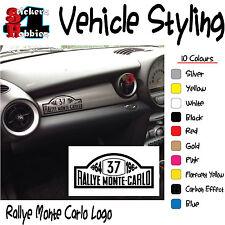 Mini Cooper Rallye Monte Carlo 1964 Calcomanía Adhesivo x1