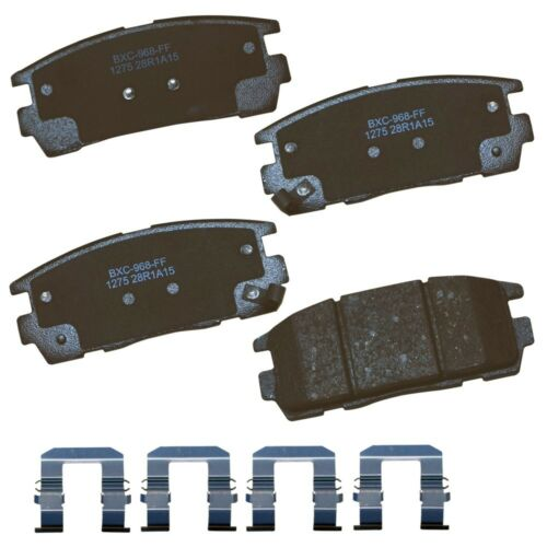 Disc Brake Pad Set-Stop Ceramic Brake Pad Rear Bendix SBC1275
