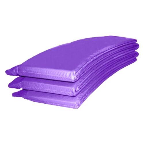 Randabdeckung Schutzpolsterung Abdeckung in lila für Trampolin 457 bis 460 cm