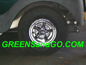 a91389e38b3 Image is loading Hubcap-Wheel-Cover-Golf-Cart-Cragar-SS-styled-