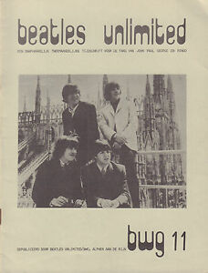 BEATLES-UNLIMITED-BWG-1978-nr-11-DUTCH-MAGAZINE-FOR-FANS