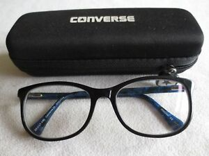 06766e49d37 Image is loading Converse-33-blue-glasses-frames-With-case