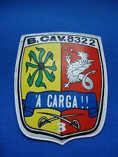 PORTUGAL PORTUGUESE MILITARY AFRICA BUSH WAR B. CAVALRY 8322 BADGE