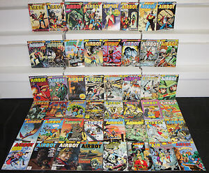 Comics Other Copper Age Comics Specials Fn/vf Pure White And Translucent Tireless Vintage Eclipse Copper Age Airboy 48pc Count Comic Lot