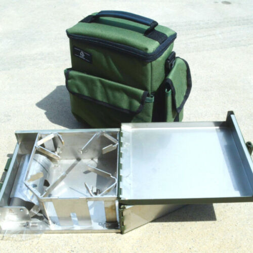 with bag OHO 3S Stove Case for Optimus 111 army green