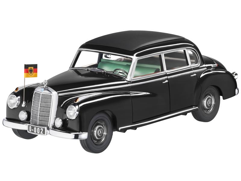 Mercedes Benz 300, W 186, noir, NOREV, 1 18