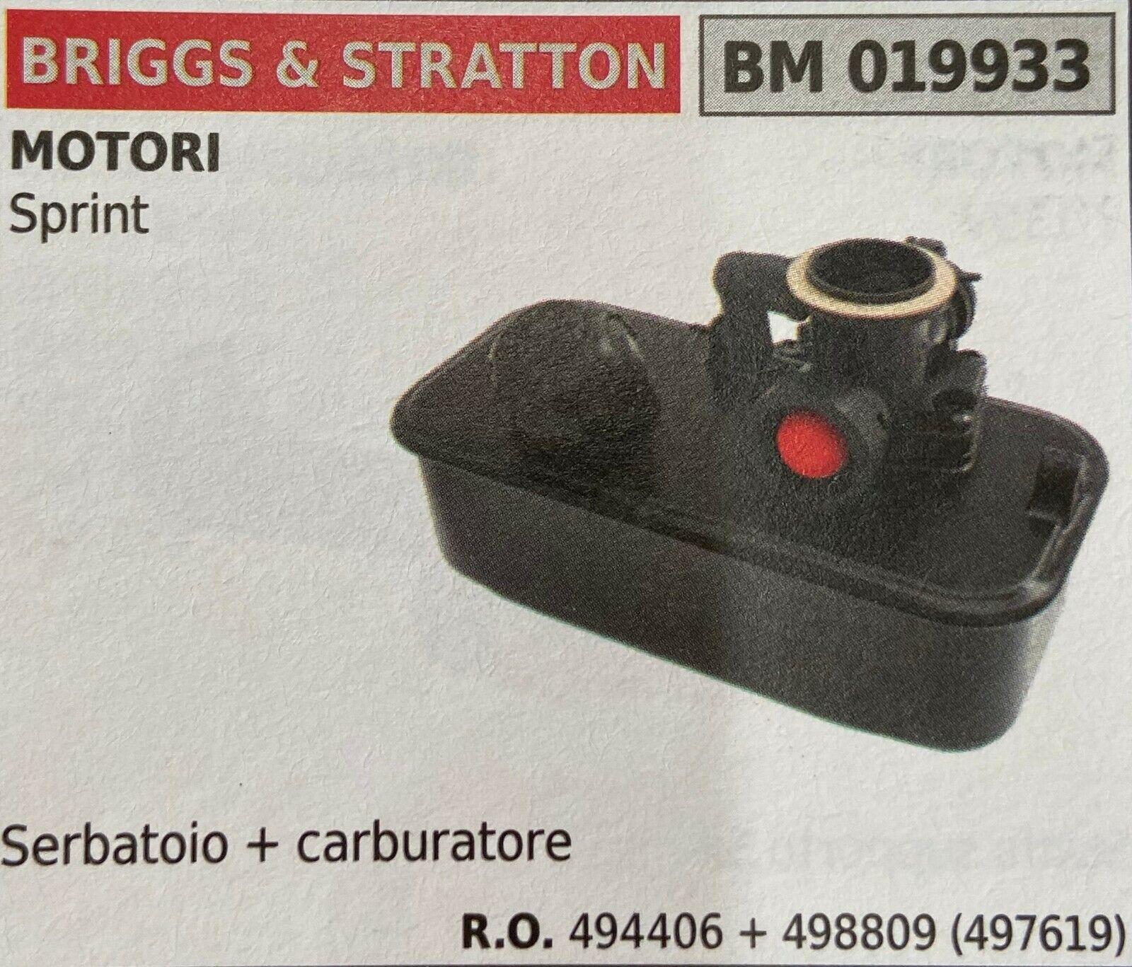 Brumar Tank Briggs & Stratton BM019933