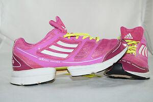 Adidas Chaussures Course Pink Jogging Feather sport à Adizero Taille39 pied de F1TlKJc