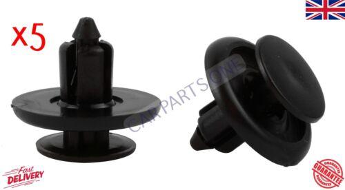 5x Clips de Ajuste Remache Forro Arco Rueda Fender Forro Protector de salpicaduras para corolla