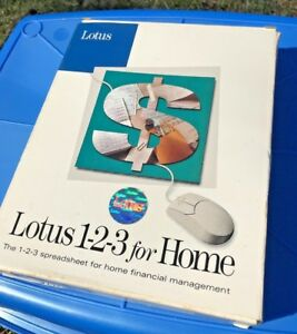Lotus-1-2-3-version-1-0-For-PC-5x-5-25-034-Disks-amp-User-Guides-1992-DISCS-SEALED
