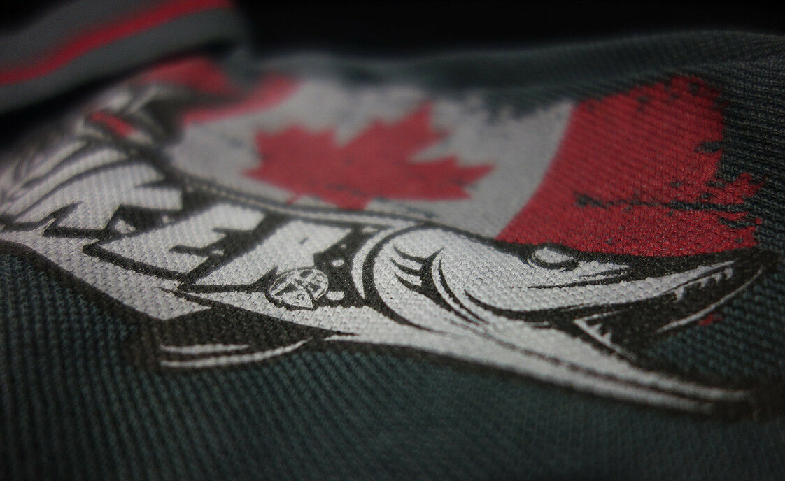 Hotspot Design Polo-Shirt Piker Canada und für Angler und Canada Segler 4059a2