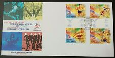 1996 Malaysia Pre-Issue XVI Commonwealth Games 4v Stamps FDC (K Lumpur Cachet)