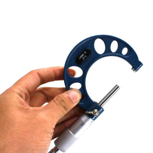 "HFS 0-4/""x0.0001/""4pc Premium Outside Micrometer Set Solid Metal Frame Carbide Tip"