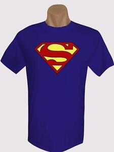Superman-Logo-Type-1-Brand-New-Men-039-s-Ts-100-Cotton-Many-Colors-amp-size-S-to-XXL