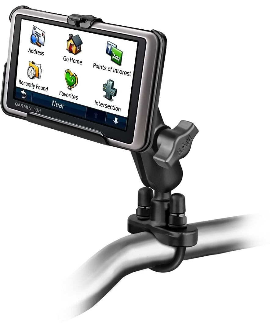 SUPPORT HANDLEBARS motorcycle FOR GARMIN NUVI 1350 1390T RAM-MOUNT