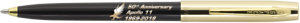 50th anniversary APOLLO 11 pen BLACK//GOLD Fisher Space Pen blister carded S251G