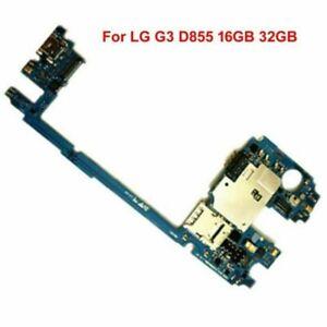 Para-LG-G3-D855-16GB-32GB-Placa-Madre-Placa-Logica-Desbloqueado-De-Montaje