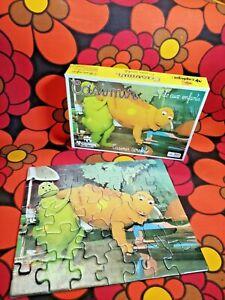 Puzzle-CASIMIR-ACROBATE-Capiepa-Cavahel-Vintage-COMPLET-iles-aux-enfants