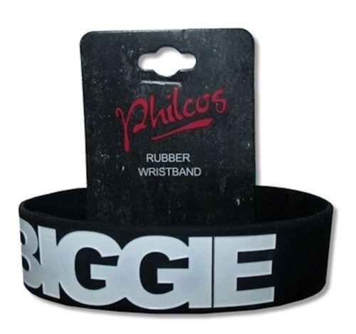 Logo Black Silicone Wristband New Official Biggie Smalls Notorious BIG B.I.G
