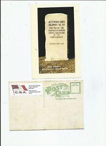 Jefferson-Davis-Highway-Marqueur-Vancouver-Washington-carte-postale
