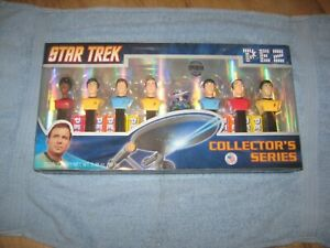Star Trek Original Series PEZ Dispenser Figures Collectors Series Limited NIB