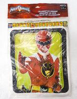 Vintage Power Rangers Plastic Party Banner Happy Birthday Hallmark