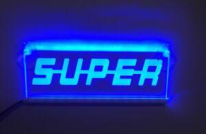 LED-AZUL-INTERIOR-CABINA-LUZ-SUPER-Placa-laser-Neon-Luz-Placa-12v-Camion