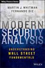 Modern Security Analysis: Understanding Wall Street Fundamentals by Fernando Diz, Martin J Whitman (Hardback, 2012)