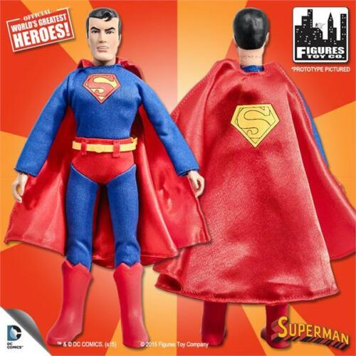 SUPER FRIENDS SERIES 1 ;SUPERMAN 8 INCH ACTION FIGURE NEW IN POLYBAG