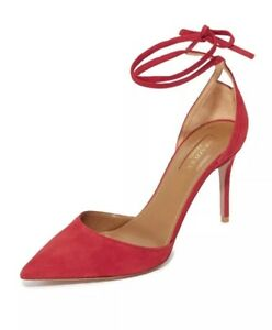 d69a77a5ac6 Details about Aquazzura Heart Breaker Pumps Paradise Pink shoes Size 39 $650