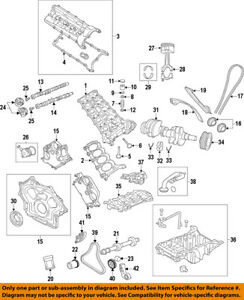 land rover oem 10 17 range rover sport engine timing chain guide rh ebay com 2005 range rover engine diagram 2005 range rover engine diagram