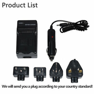Cargador de batería para Panasonic Lumix DMC fz-40 fz-45 fz-48 fz-100 fz-150 bmb9