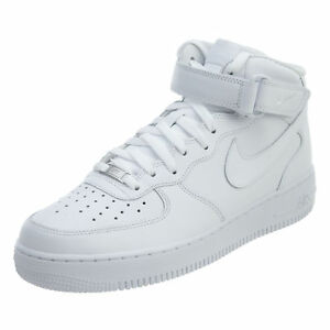 wholesale dealer b461a 14c02 Image is loading Nike-Mens-Air-Force-1-Mid-Running-Shoes-