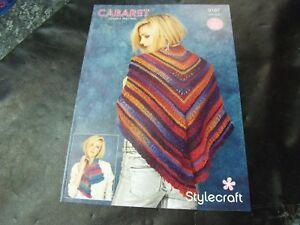 Stylecraft Double Knit Pattern 9187 Two Crochet Designs One Size