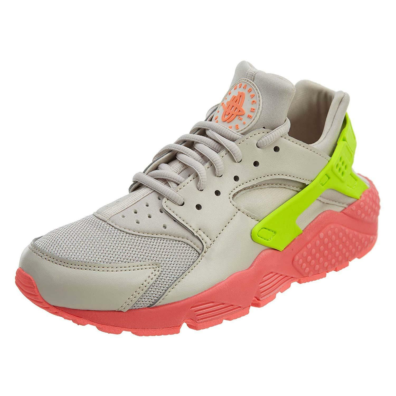 Nike Air Huarache Run Desert Sand Volt-Hot Punch (WS) (634835 033)