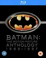 Batman: The Motion Picture Anthology 1989-1997 (Blu-ray Disc, 2009, 4-Disc Set)