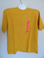 Prospirit Mens T-shirt Size:s Color - Yellow Mustard