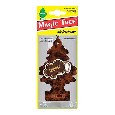 1x Magic Tree Leather Air Freshener Long Lasting Frangrance New Car Smell