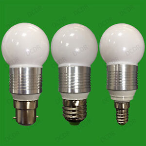 12X-3W-del-ultra-basse-consommation-Rond-GOLF-AMPOULE-3000K-lampes-E14-SES