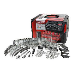 Craftsman-450-Piece-Mechanic-039-s-Tool-Set-with-3-Drawer-Case-Box-450pc-99040