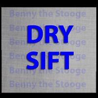 100 Micron Stainless Steel Pollen / Kief Sifter Screen