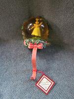 """Krinkles """"Retired 2007""""  Fairy WaterGlobe Stocking Hanger Dept 56  New In Box"""