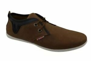 Tanggo-A992081-4-Sport-Men-039-s-Low-Cut-High-Quality-Sneakers-Brown-SIZE-9-5
