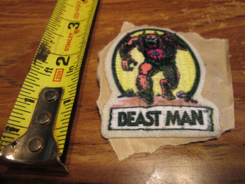 VINTAGE BEAST MAN PATCH SWEET LOOKING 2.5 INCHES  RARE