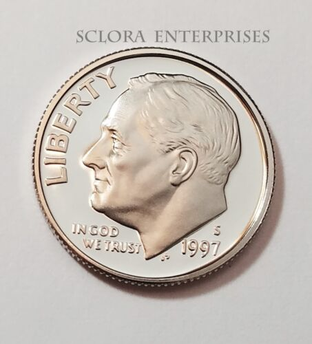 1997 S ROOSEVELT *PROOF* DIME  **FREE SHIPPING**