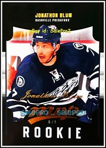 UD-MVP-2011-JONATHAN-BLUM-NHL-RC-NASHVILLE-PREDATORS-MINT-ROOKIE-CARD-94