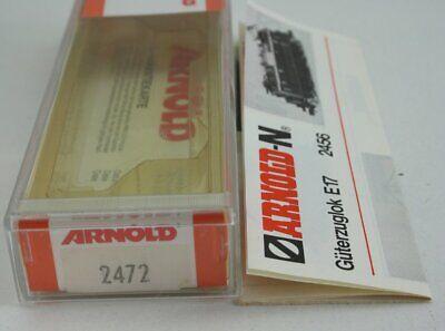 Arnold 2472 Leerbox Ovp Istruzioni Per E-lok Br E 17/117 (2446, 2456, Goldie 2714)-mostra Il Titolo Originale