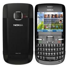 Nokia C3-00 Black Schwarz AZERTY C3 RM-614 Symbian Smartphone (B-Ware)