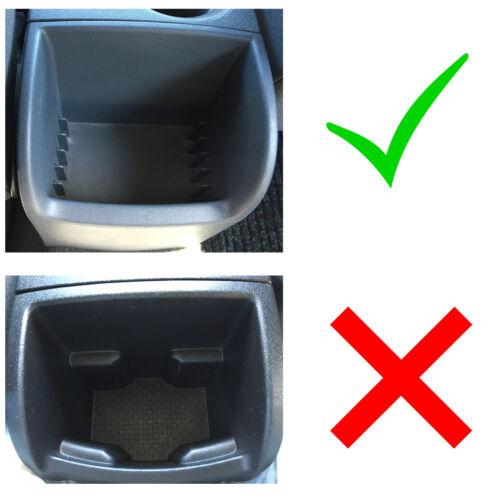 Armlehne Mittelarmlehne Leder Bezug Schwarz Weiß für Seat Leon II 1P 2005-2012